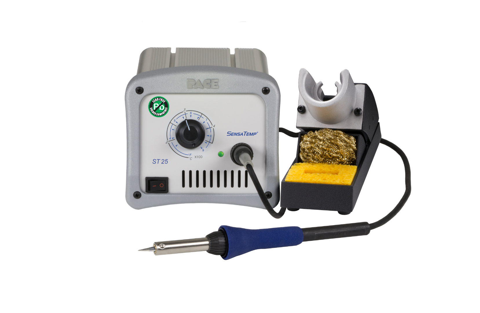 ST25 Soldering Station with PS-90 High Capacity Soldering Iron, 230V